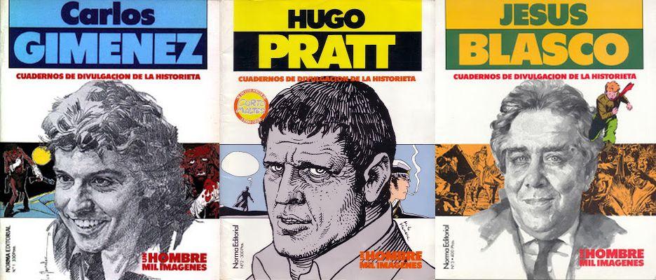 Un hombre, mil imágenes: C. Gimenez, H. Pratt y J. Blasco