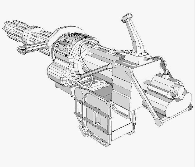 fallout universe  minigun