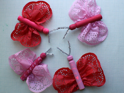 Craft Ideas Doilies on Crafty Life Blog  Link Roundup  Last Minute Valentine Kid Crafts