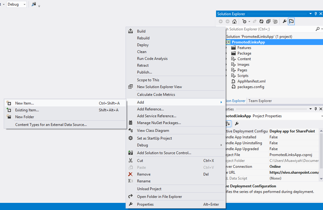 how to add links to a page in sharepoint 2013