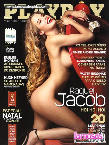 Raquel Jacob na Playboy de Dezembro de 2012