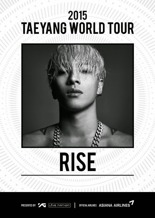 Taeyang to kick off his first solo world tour in Hongkong