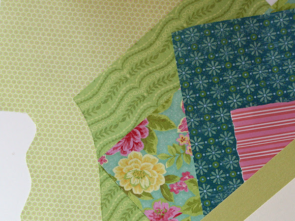 Paper Bargello Tutorial for Cards