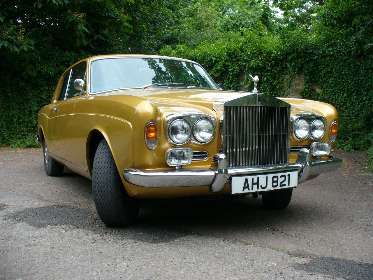 Rolls royce corniche ii coupe fixed head 1972 two door coupe crh12709