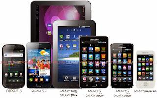 Daftar Harga Smartphone Samsung Galaxy