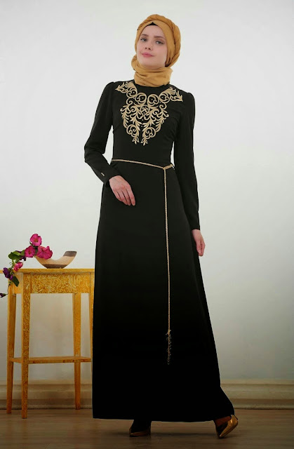 Abaya khaliji pas cher