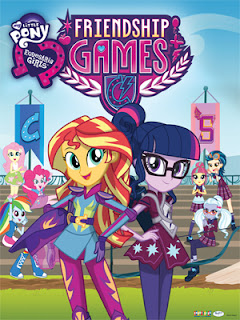 My Little Pony: Equestria Girls friendship games  cover