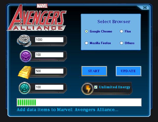 Hack Para Marvel Avengers Alliance Facebook