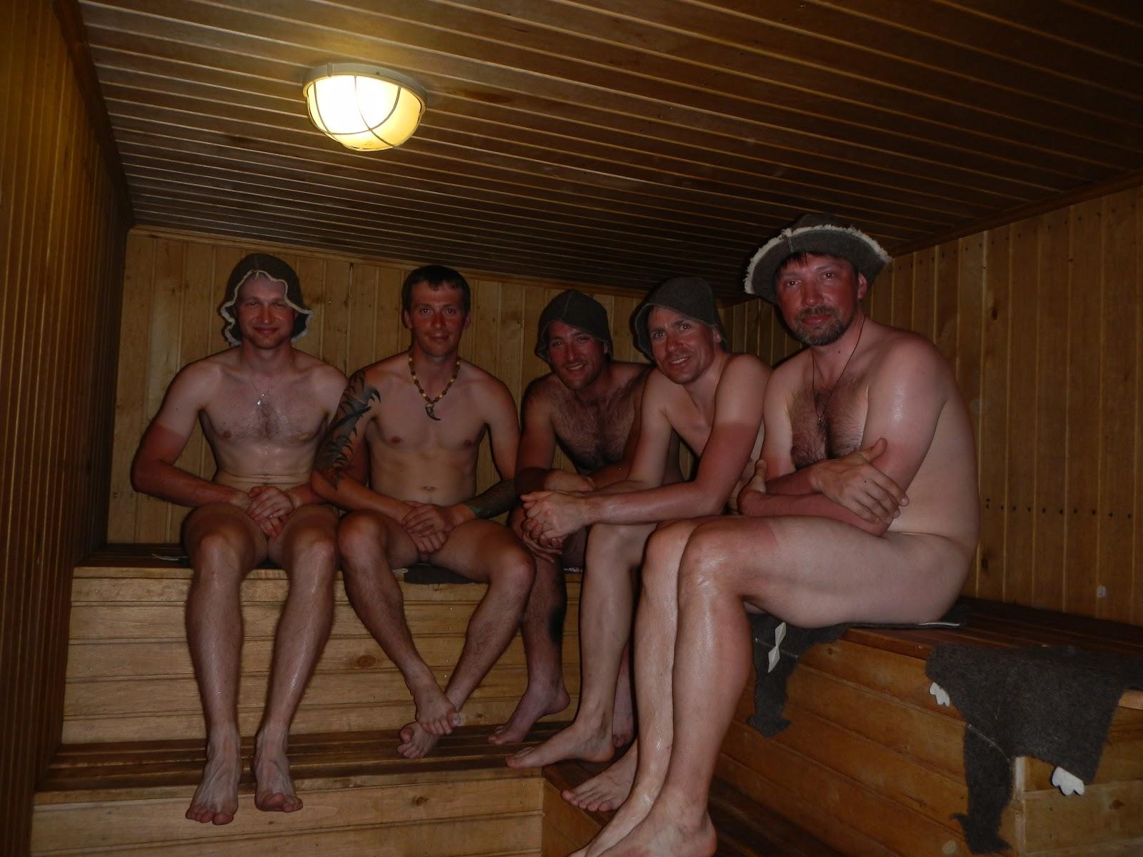 Баня русских геев моему