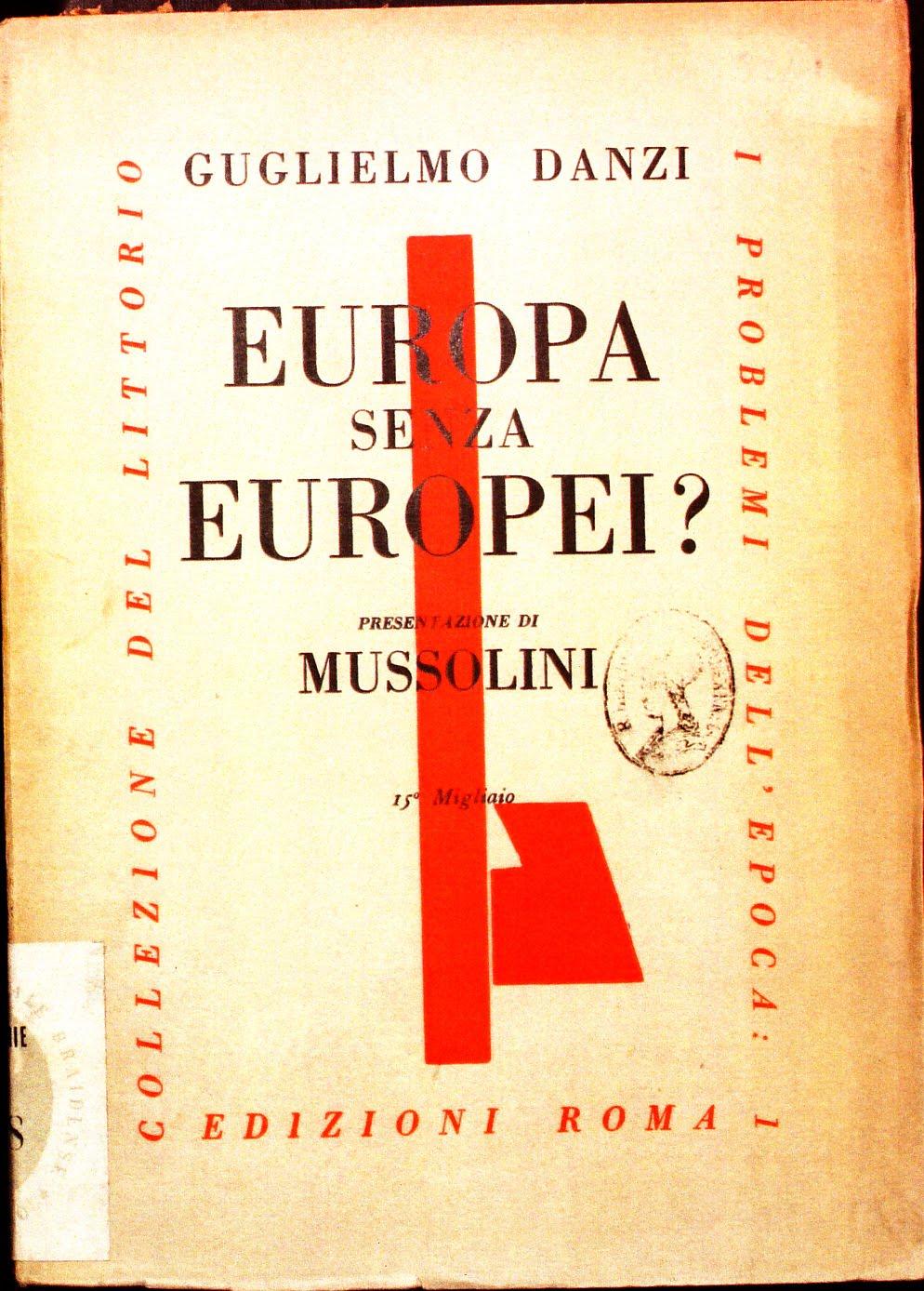 EUROPA SENZA EUROPEI ?