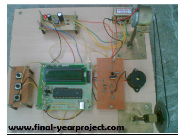 Speed Control Of Dc Motor Using Microcontroller By Using