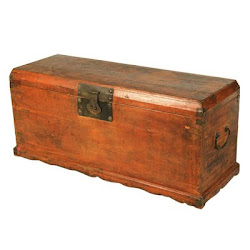 18th C Scholars Trunk