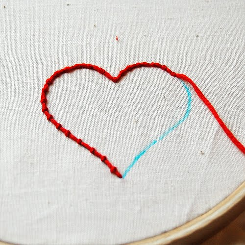 The craftinomicon embroidery how to couching
