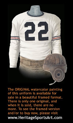 Chicago Bears 1932 uniform