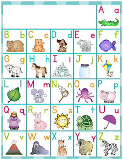 Displaying 17> Images For - Spanish Alphabet Chart Pdf...