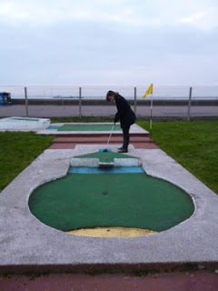 Photo of the Arnold Palmer Miniature Golf course in Southend-on-Sea