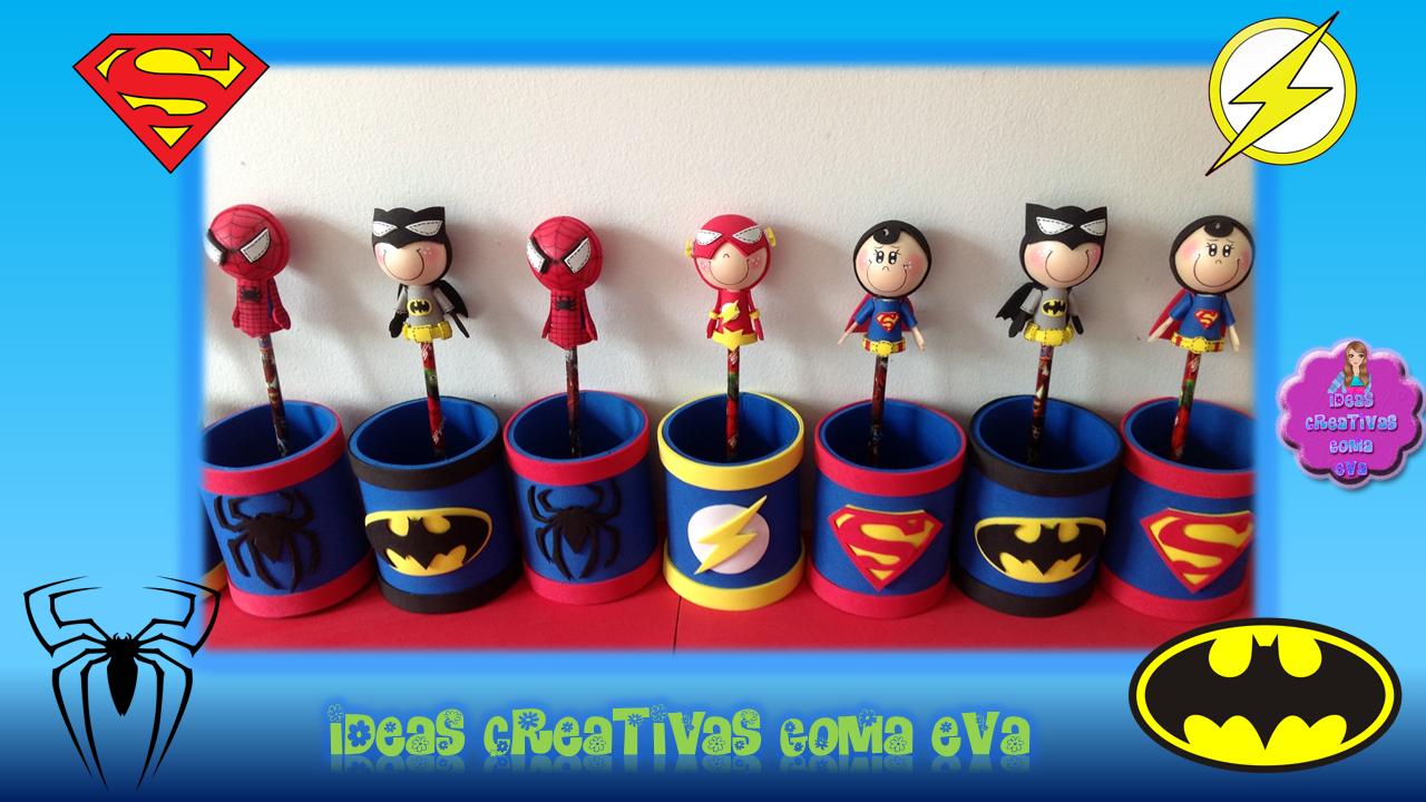 Ideas Para Fiesta De Super Hero's