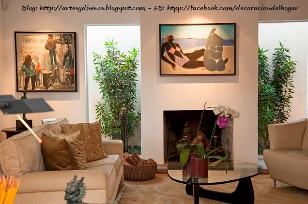 C mo ubicar plantas en la sala decoraci n del hogar for Decoracion del hogar vintage