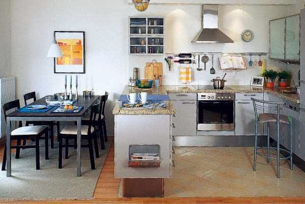 Modern kitchen designs for large and small spaces ayanahouse - Large modern kitchen design ideas ...