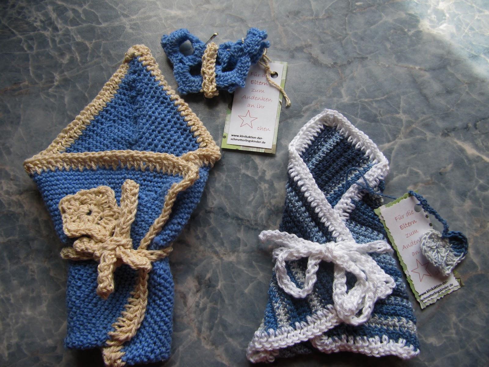 Meine Handarbeiten Einschlagtücher Für Sternenkinder