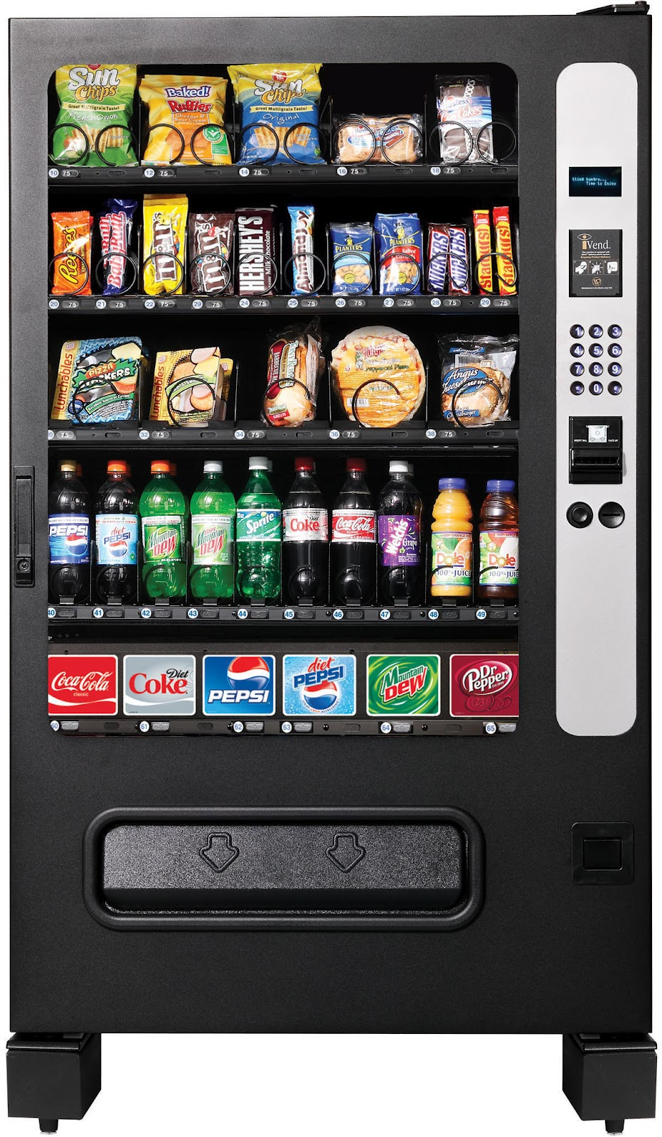 chill center vending machine