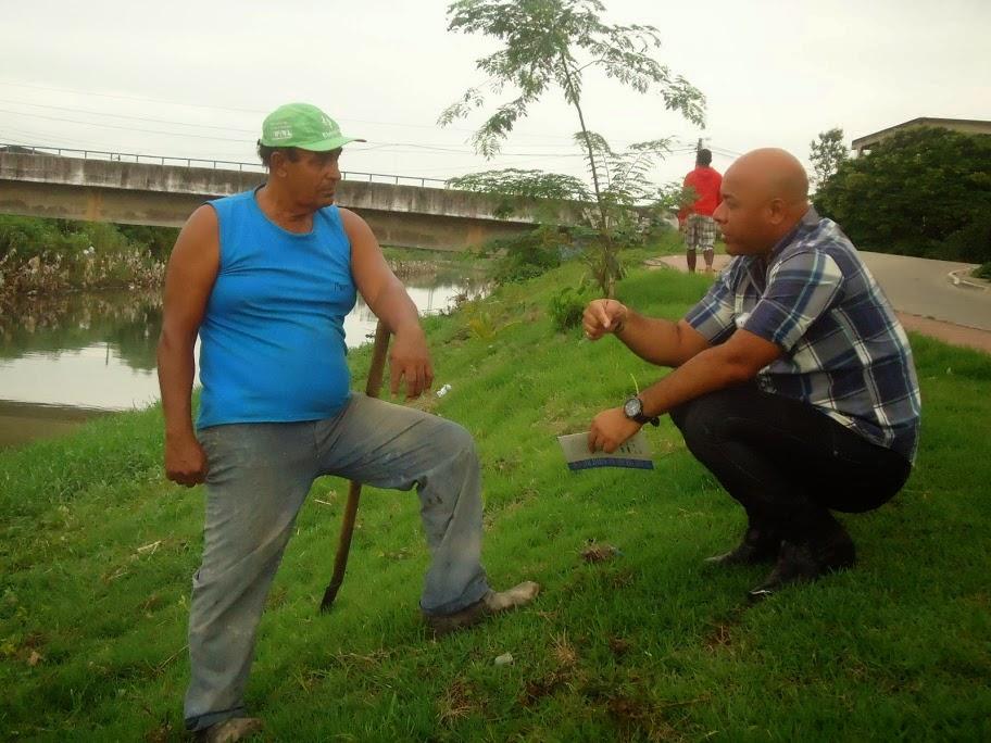 Dialogando com Morador de Santa Maria
