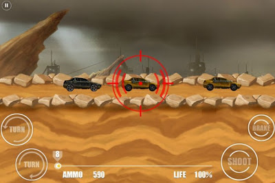 Road Warrior Android HD e Hvga (480x320) Apk Full Download