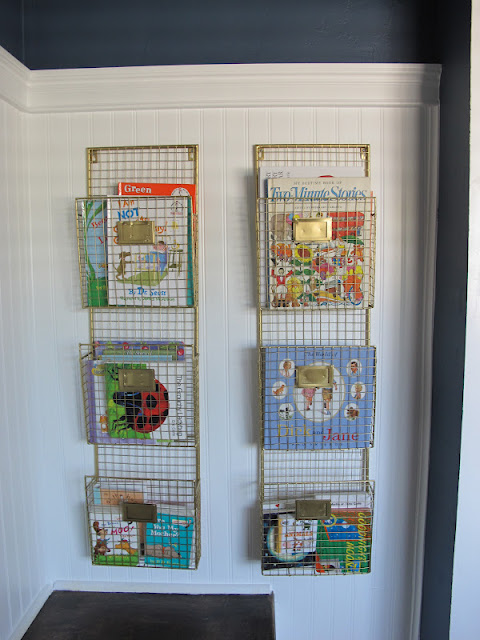 Nursery Book Shelves by Dream Book Design #nursery #bookshelves #diy