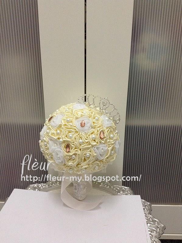 Princess Bouquet with Crown by Fleur