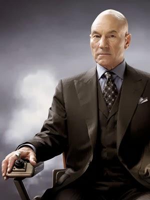 Professor Charles Xavier from the X-men