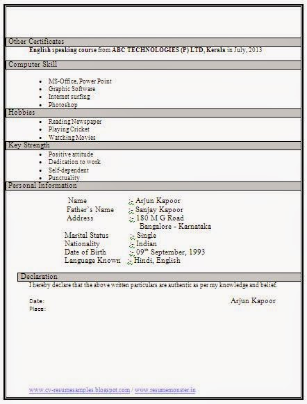 Resume format for diploma mechanical engineer fresher over 10000 cv and resume samples with free download mechanical resume format for diploma mechanical engineer fresher yelopaper Images