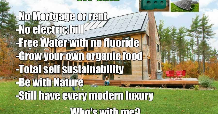 Off Grid and Debt Free! Who is with me?
