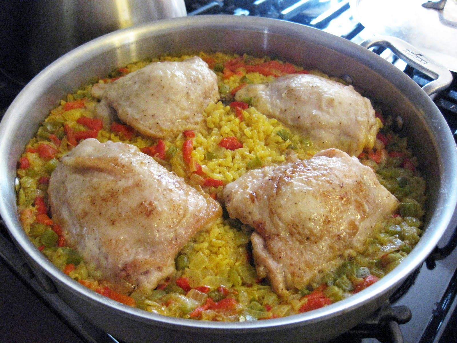 Bloatal Recall: Spanish Chicken and Rice