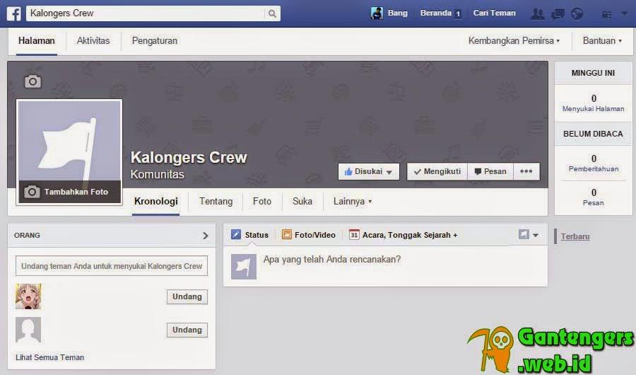 Cara Membuat Fanspage Halaman Facebook