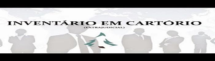 INVENTÁRIO EM CARTÓRIO