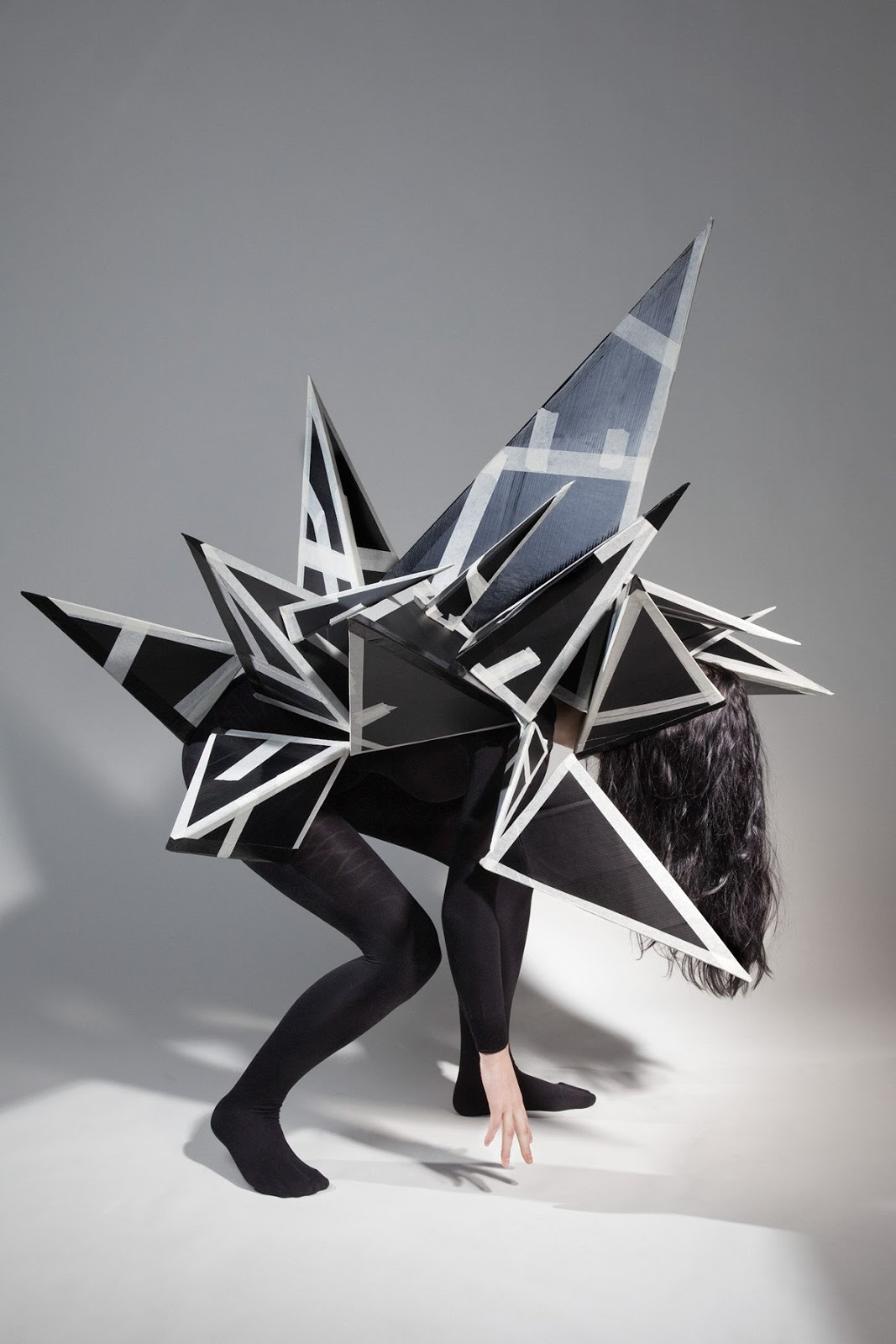 © Lola Dupré & Madame Peripetie | Paper Monsters for Kinki Magazine