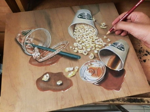 photorealism, artist Ivan Hoo