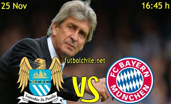 Manchester City vs Bayern Múnich - Champions League - 16:45 h - 25/11/2014