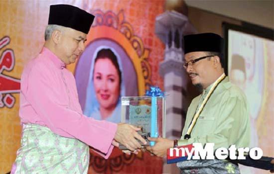 Tokoh Maal Hijrah Perak Disandang Oleh Datuk Ustaz Kazim Elias