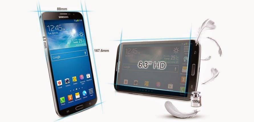 "Fitur dan Spesifikasi Samsung Galaxy Mega 6.3"" GT-I9200"