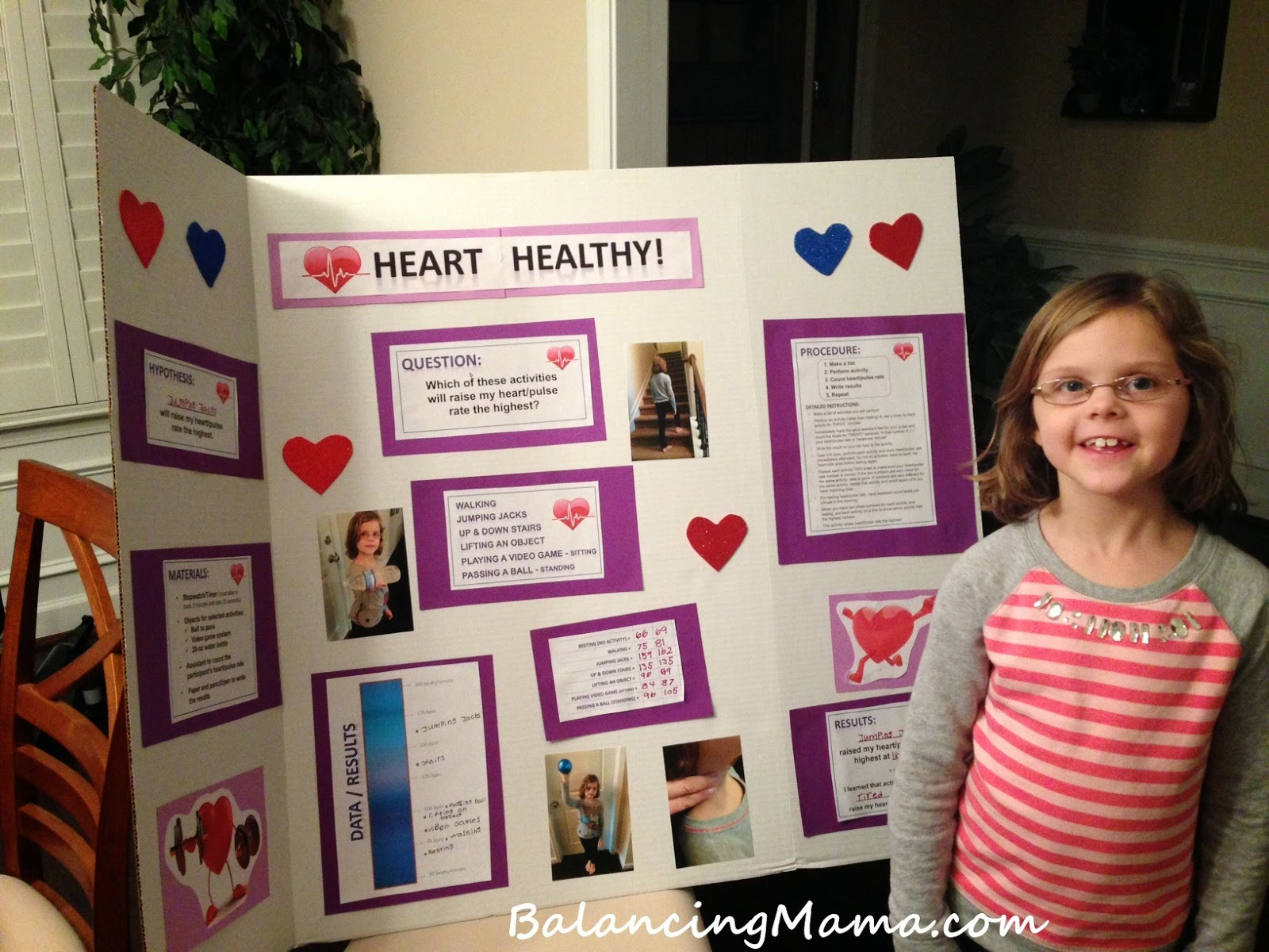 ... BalancingMama: Exercise and heart rate: A first grade science project