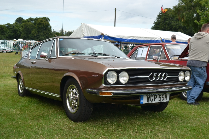 The Petrol Stop: Audi 100 Coupe S