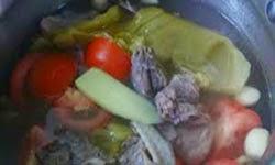 Resep Praktis dan mudah membuat masakan khas singapura Kiam Chye soup enak, lezat