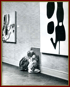 Children love modern art