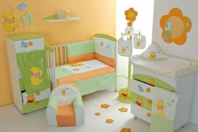 foto dormitorio winnie pooh bebe