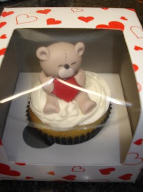 Love Bear Cupcakes