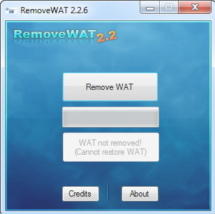 Windows 7 All Activator RemoveWAT 2.2.6 Full Version