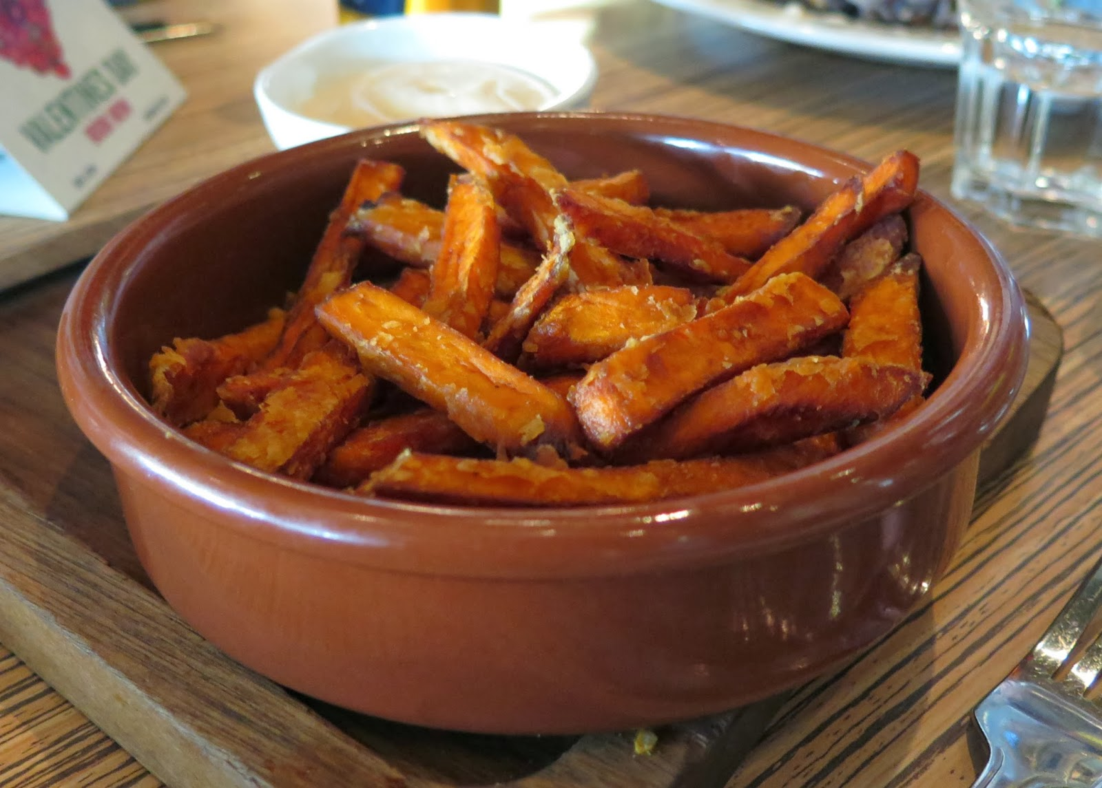sweet potato fries, Michelle Louise Love