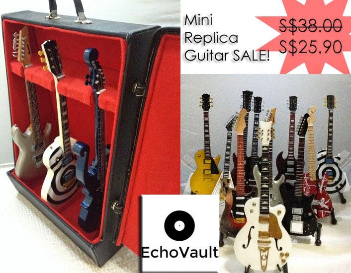 Miniature Replica Guitars
