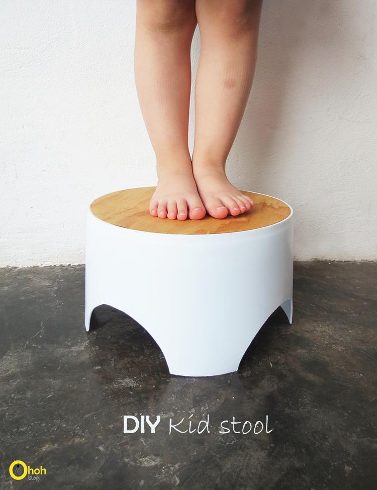 DIY kid stool